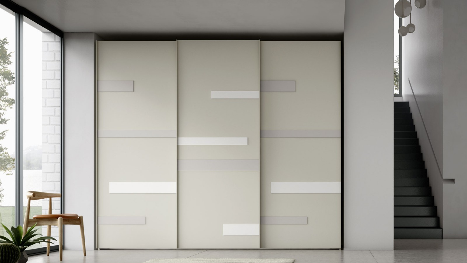 Art sliding door Orme