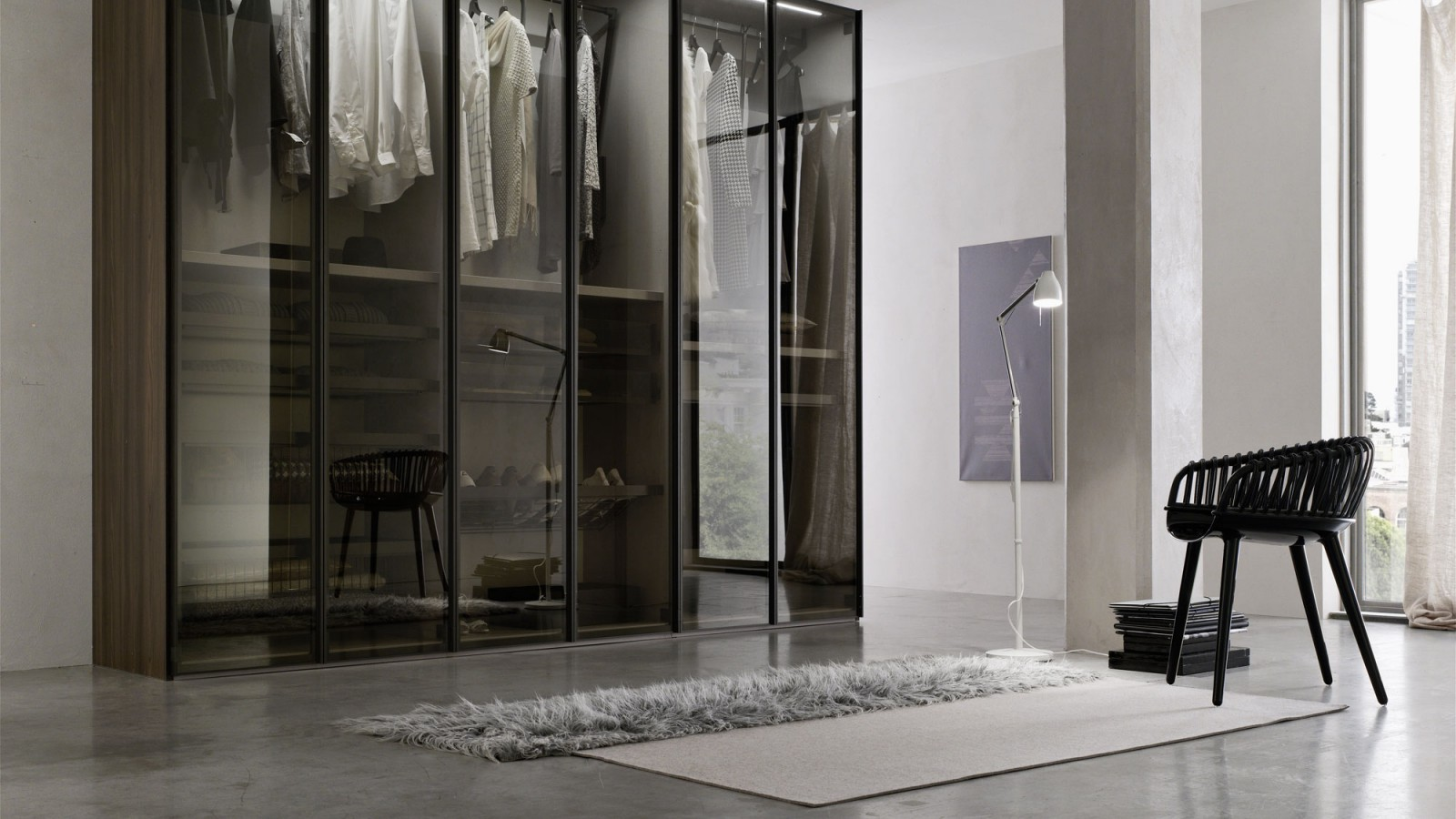 Glass Door Wardrobe Eunstudio