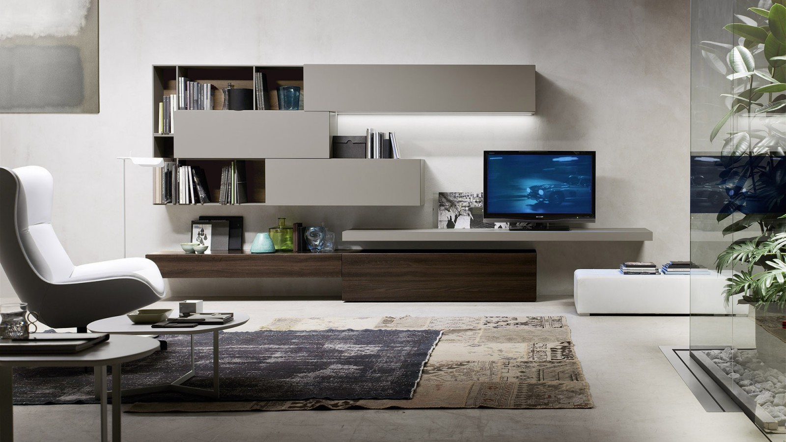 Comp modulo 6 orme for Arredamento design moderno
