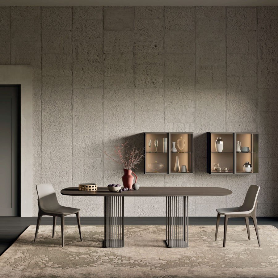 Muro Bianco E Grigio teka - furnishings, complements and accessories - orme